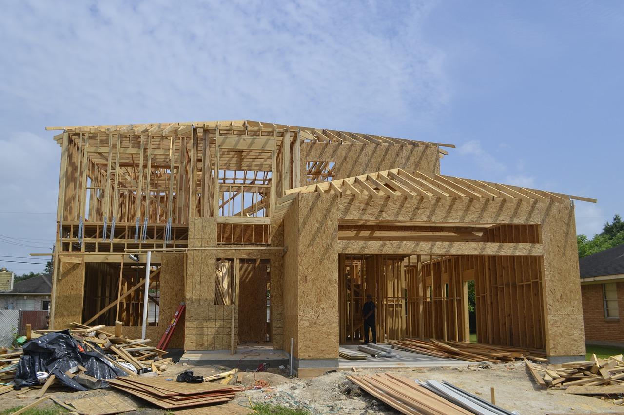 Drewniany dom, czyli spełnienie marzeń wielu osób